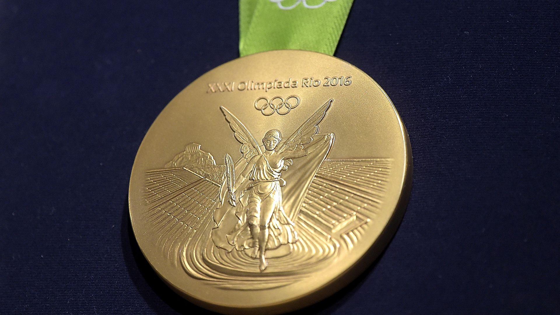 060816 olimpik, pingat emas